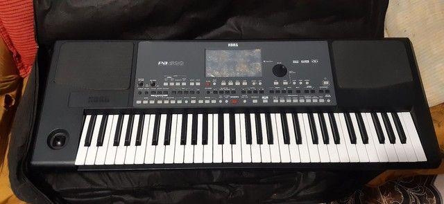 teclado pa 600 unico dono - Foto 6