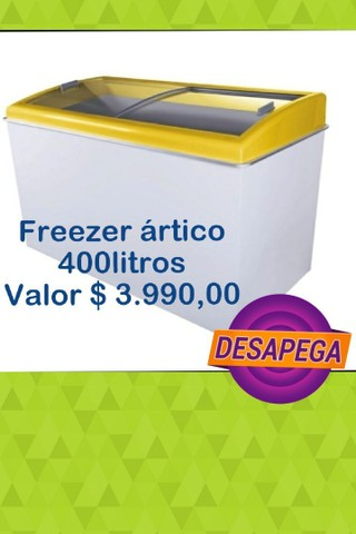 Freezer ártico novo 400L entrega imediata chame no zap