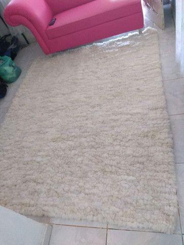 Tapete Lã de carneiro (Legítimo lã de carneiro)
