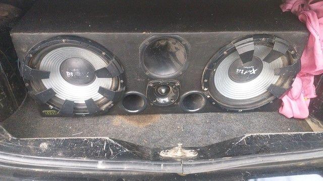 Caixa de som automotivo  com módulo funcionando perfeito  - Foto 2