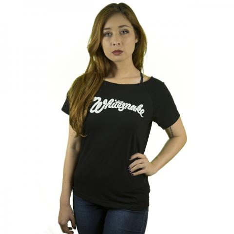 Camiseta Rock Whitesnake Feminina