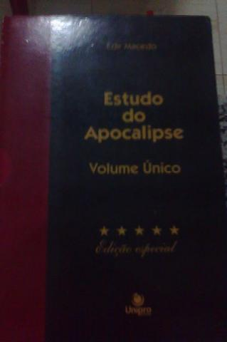 Estudo do apocalipse ( volume único )