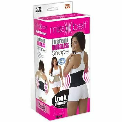 Cinta abdominal miss belt