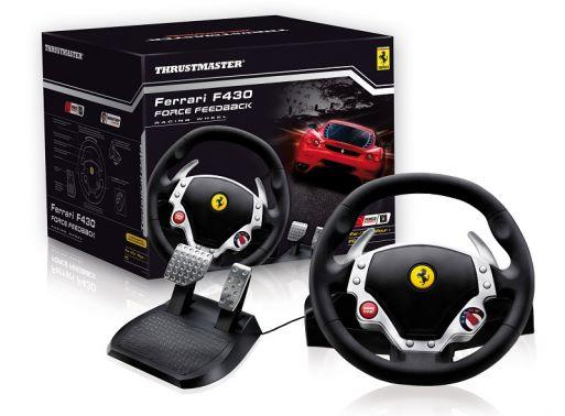 Volante para pc Ferrari F430 Thrustmaster Force Feedback