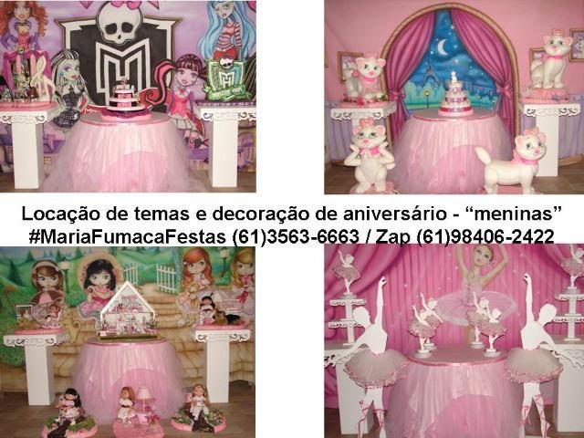 Temas de aniversário para festa das meninas - decorações temáticas