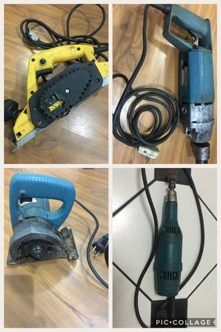 Lote com 04 equipamentos - analiso propostas - somente venda