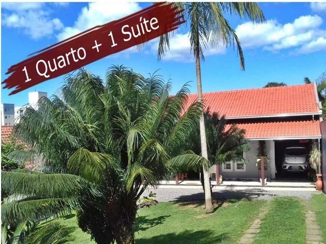 Casa de Alvenaria Com 1 Quarto e 1 Suite