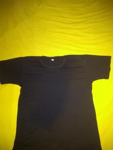 Vendo camisas 100% poliéster, para sublimação - Foto 3