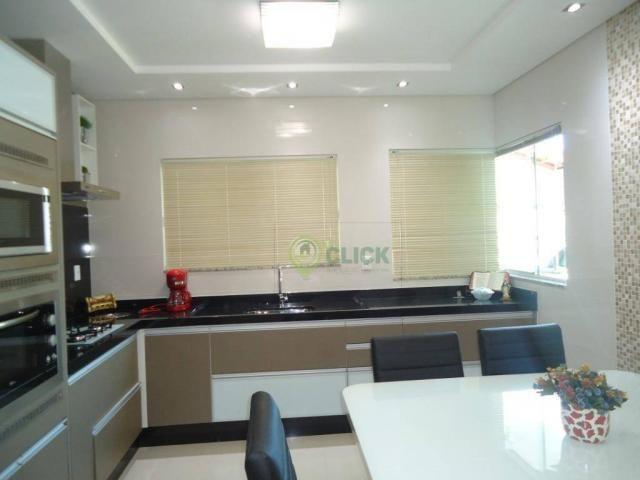 Casa com alto padrão de construção, mobilia Duran móveis sob medida a venda no bairro Vila - Foto 9