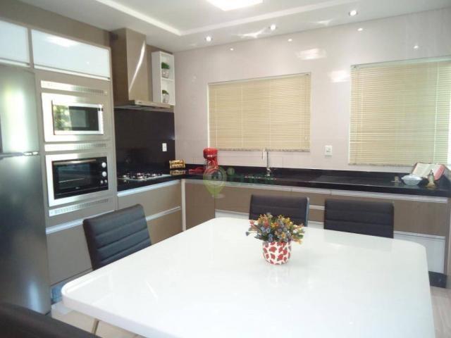 Casa com alto padrão de construção, mobilia Duran móveis sob medida a venda no bairro Vila - Foto 11