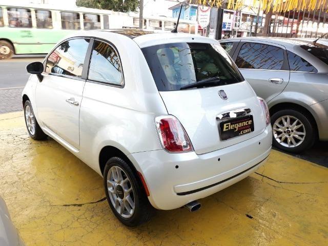 Fiat 500 Perola!! Financio Sem Ent. nao ka c3 onix 208 kwid up hb20 cooper mobi uno gol - Foto 4