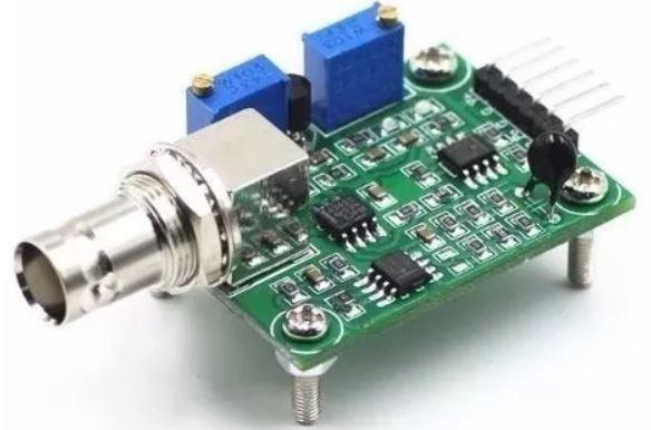 COD-AM277 Módulo Sensor + Ph Eletrodo Sonda Bnc Phmetro Ph0-14 Arduino Automação Robot - Foto 2