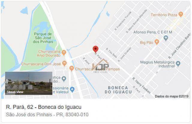 Terreno à venda, 377 m² por r$ 253.995 - boneca do iguaçu - são josé dos pinhais/pr - Foto 6