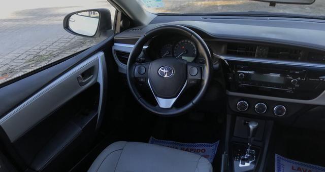 Toyota Corolla 2017 GLI Upper 1.8 Automático Flex Completo - Foto 14