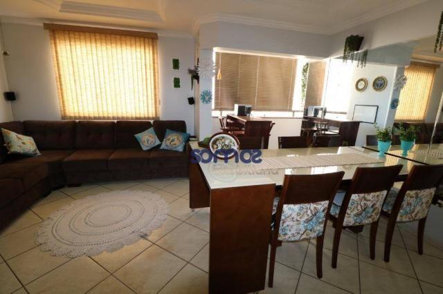 Apartamento com 3 dormitórios à venda, 95 m² por r$ 275.000,00 - jardim américa - goiânia/ - Foto 3