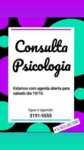 Consulta com psicologia