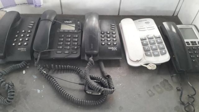 Lote De Telefones Fixo