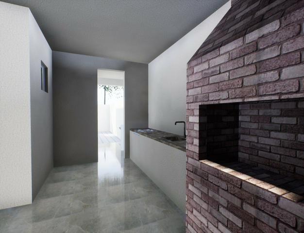 Casa nova 3suítes churrasqueira ofurô rua 10 Vicente Pires condomínio fechado - Foto 7