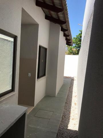 Casa Plana no Eusébio, 3 quartos, suítes, churrasqueira, excelente localização! - Foto 18