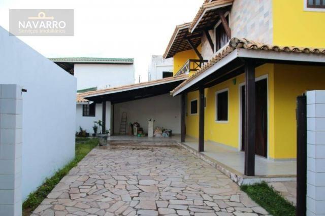 Casa com 4 dormitórios à venda, 184 m² por r$ 690.000 - stella maris - salvador/ba - Foto 3