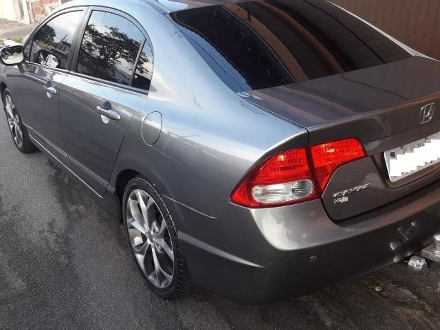 Honda Civic 1.8 Lxs Flex Aut. 4p - Foto 4