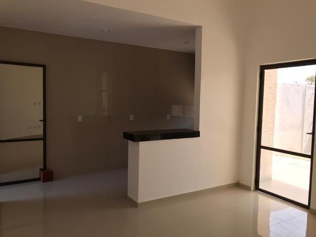 Casa Plana no Eusébio, 3 quartos, suítes, churrasqueira, excelente localização! - Foto 8