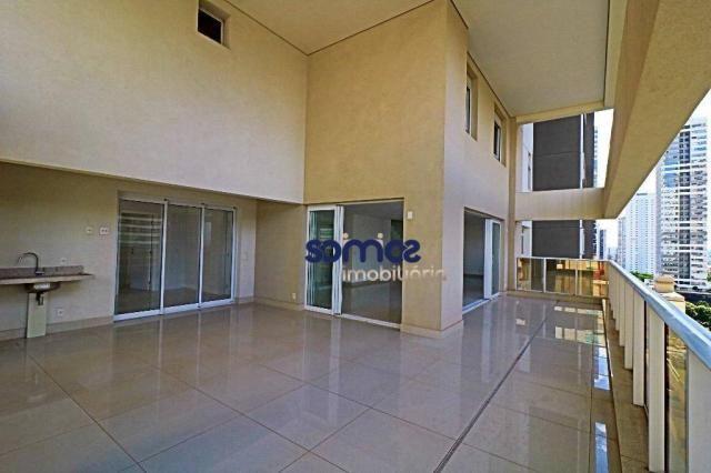 Apartamento duplex com 4 dormitórios à venda, 288 m² por r$ 2.080.000,00 - setor bueno - g - Foto 6