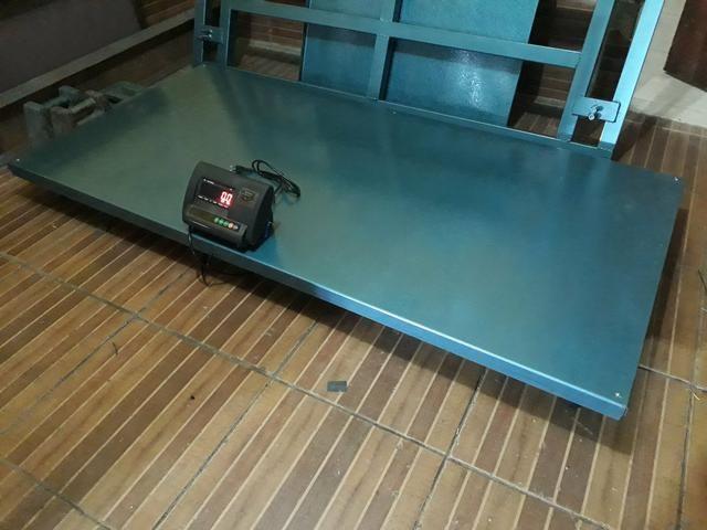 Balança De plataforma 300kg/500kg/1000kg/3000kg Ferro velho/reciclagem - Foto 6