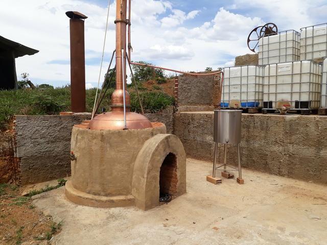 ALAMBIQUE com micro usina de etanol e cachaça - Foto 2