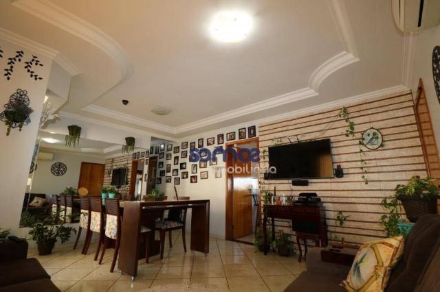 Apartamento com 3 dormitórios à venda, 95 m² por r$ 275.000,00 - jardim américa - goiânia/