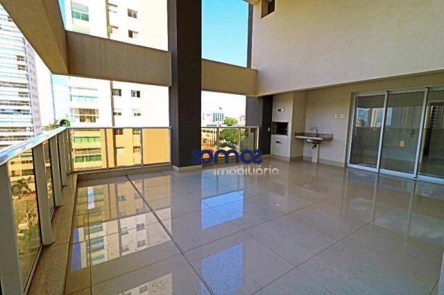 Apartamento duplex com 4 dormitórios à venda, 288 m² por r$ 2.080.000,00 - setor bueno - g - Foto 2