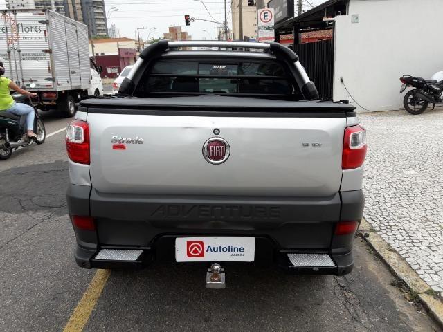 Fiat Strada Adventure 1.8 Flex Cabine Dupla Completa impecavel Baixo KM - Foto 4