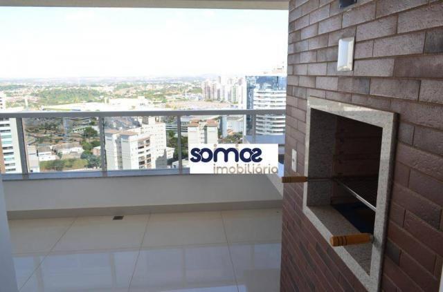 Apartamento com 4 dormitórios à venda, 178 m² por r$ 1.105.000,00 - jardim goiás - goiânia - Foto 3