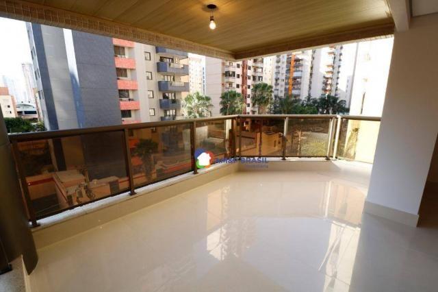 Apartamento com 3 dormitórios à venda, 230 m² por r$ 940.000,00 - setor bueno - goiânia/go - Foto 13