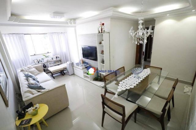Apartamento com 3 dormitórios à venda, 80 m² por r$ 290.000,00 - setor nova suiça - goiâni