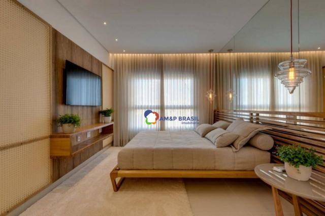 Apartamento com 3 dormitórios à venda, 178 m² por r$ 1.115.500,00 - setor marista - goiâni - Foto 6
