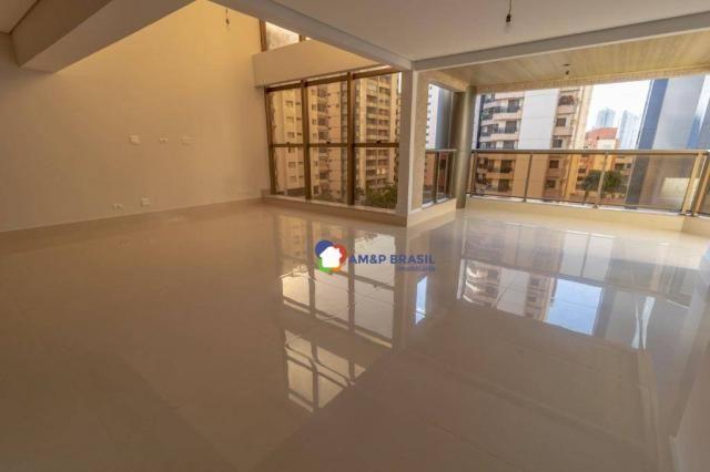 Apartamento com 3 dormitórios à venda, 230 m² por r$ 940.000,00 - setor bueno - goiânia/go - Foto 6
