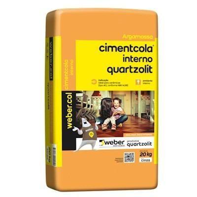 Argamassa Quartzolit AC-I 20kg - R$ 13,50