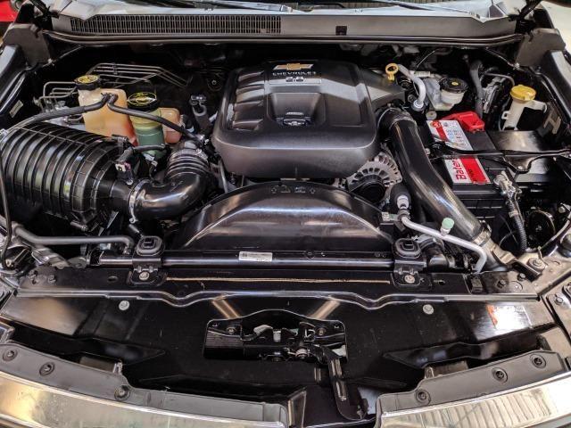 Chevrolet S10 LTZ 2.8 Diesel Cab Dupla 2014 Automática Preta (Completa + Couro) - Foto 13