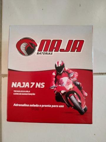 Bateria Naja amp 7 nova!!! - Foto 2