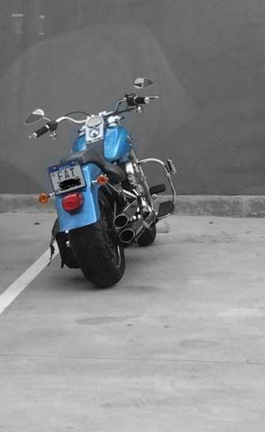 Harley Davidson Fat Boy 2011 cor única