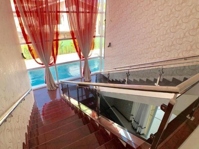Mansão Espetacular no Alphaville Fortaleza, Projetada e Mobiliada - Foto 19