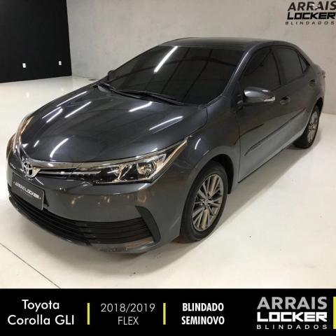 Toyota corolla 2018/2019 1.8 gli upper 16v flex BLINDADO - Foto 2