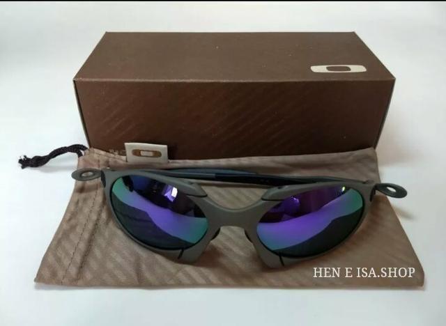 798f00c88 Óculos Oakley Romeo 1 xmetal roxo Novo Polarizado Frete grátis - Foto 5