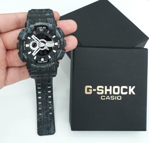 eea8c3ec0e8 Relógio G Shock Casio Ajuste Automático Novo - Bijouterias