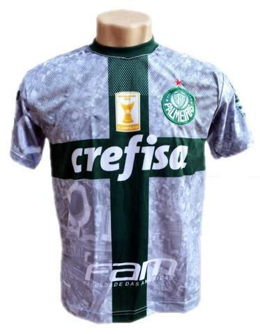 5339ed22e Camisa Palmeiras Azul 2019 Goleiro Nova Deca Campeão - Roupas e ...