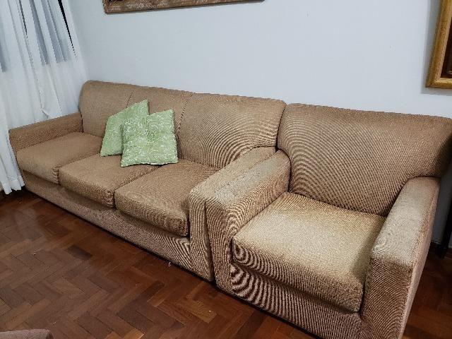 Jogo de sofá super confortável e em excelente estado