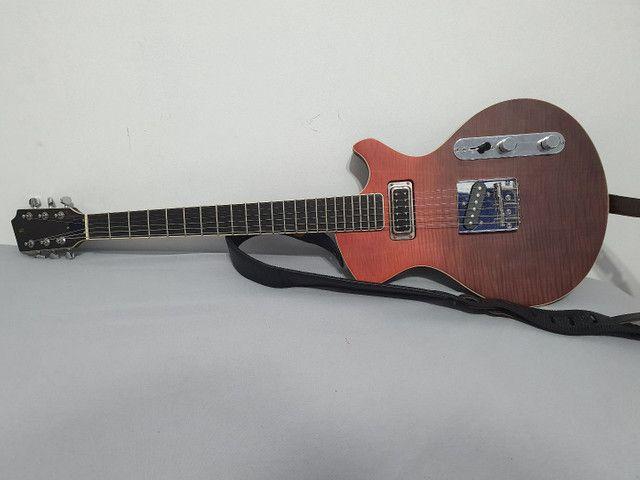 Linda Guitarra Stagg Silveray less pool - Foto 2