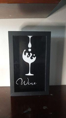 Quadros rolha de vinho - Foto 3