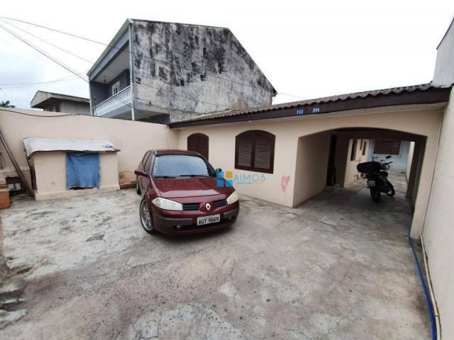 Terreno com 2 casas no Uberaba